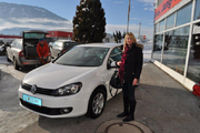 Bettina Wandl - VW Golf 6